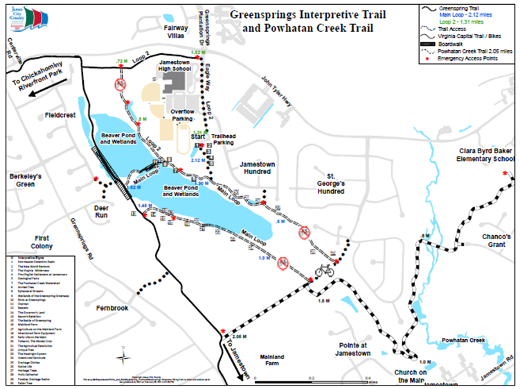 Greensprings Greenway Trails