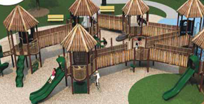 James City County Parks and Recreation hosted a community meeting to share renovation and design plans for a new playground structure to replace the existing Kidsburg playground at Mid County Park, 3793 Ironbound Road.