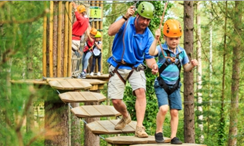 Go Ape, the treetop adventure course in Freedom Park is planning to add a separate course designed for younger children, ages 5 and up, in addition to its regular course, designed for adults and children 10 and up..